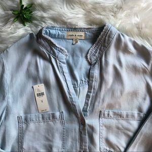NWOT Cloth & Stone Button Down Shirt